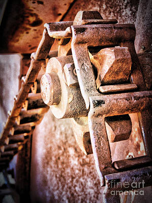 Photograph - Vintage Rust by Pam Vick
