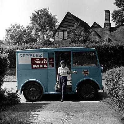 Photograph - Vintage Sealtest Milk Truck by Andrew Fare