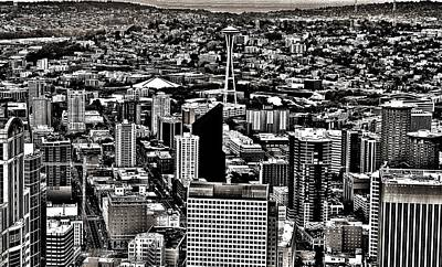 Photograph - Vintage Seattle by Benjamin Yeager