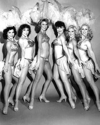 Vintage Showgirls Fine Art Print #01 Art Print by Retro Images Archive