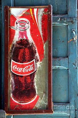 Coca-cola Signs Photograph - Vintage Sign by Sophie Vigneault