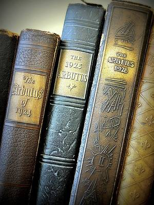 Art Print featuring the photograph Vintage Spines by Scott Kingery