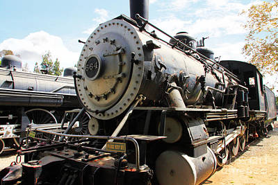Photograph - Vintage Steam Locomotive 5d29106 by Wingsdomain Art and Photography