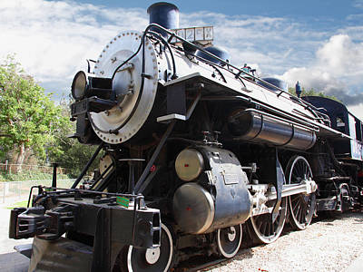 Photograph - Vintage Steam Locomotive 5d29110 by Wingsdomain Art and Photography