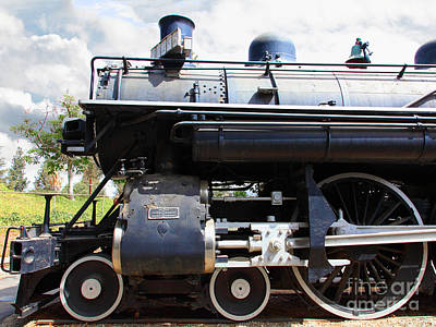 Photograph - Vintage Steam Locomotive 5d29112 by Wingsdomain Art and Photography