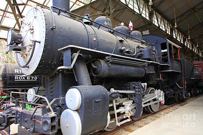 Photograph - Vintage Steam Locomotive 5d29218 by Wingsdomain Art and Photography