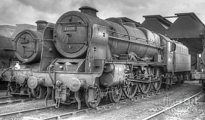 Photograph - Vintage Steam Locomotive 46119 by David Birchall