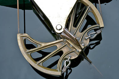 Photograph - Vintage Steering by Steven Lapkin