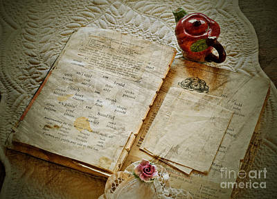 Photograph - Vintage Still Life Memories Art Prints by Valerie Garner