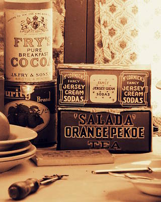 Photograph - Vintage Still Life by Ramona Johnston