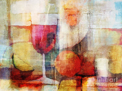 Stillife Painting - Vintage Stillife by Lutz Baar