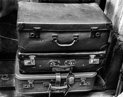Photograph - Vintage Suitcases by Dany Lison