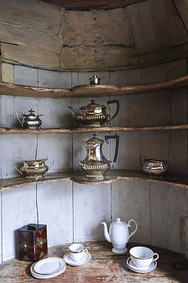 Old Shelfs Photograph - Vintage by Svetlana Sewell