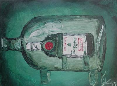 Painting - Vintage Tanqueray by Lee Stockwell