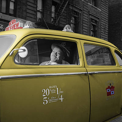Photograph - Vintage Taxi 5 by Andrew Fare