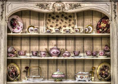 Photograph - Vintage Tea Cup Set 1 by Radoslav Nedelchev