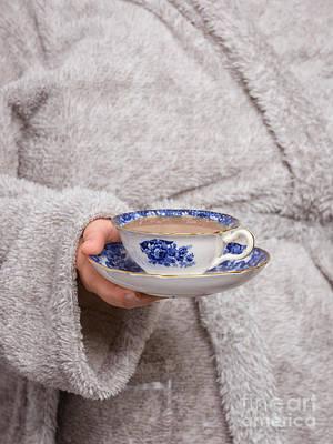 Bathrobe Photograph - Vintage Teacup by Amanda Elwell