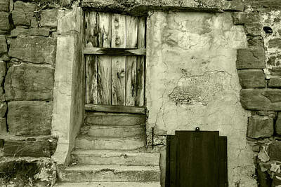 Photograph - Vintage Textures In Black And White by Jim Moss