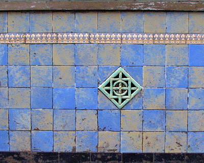 Photograph - Vintage Tilework by Ben Freeman