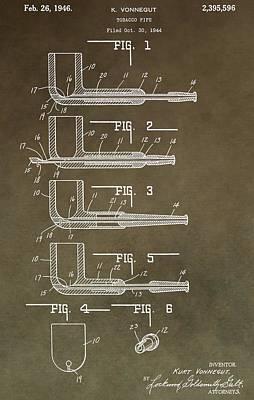 Vintage Tobacco Pipe Patent Art Print