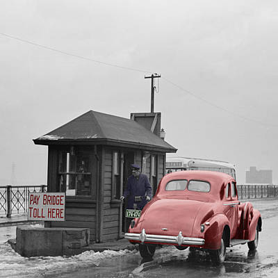 Photograph - Vintage Toll Booth by Andrew Fare