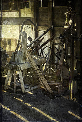 Photograph - Vintage Tool Shed by Judy Hall-Folde