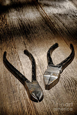 Photograph - Vintage Tools by Olivier Le Queinec