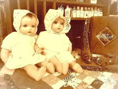 Photograph - Vintage Toys  by Saundra Myles