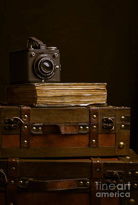 Packing Photograph - Vintage Travel by Edward Fielding