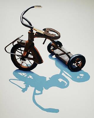 Tricycle Painting - Vintage Trike by Jeffrey Bess