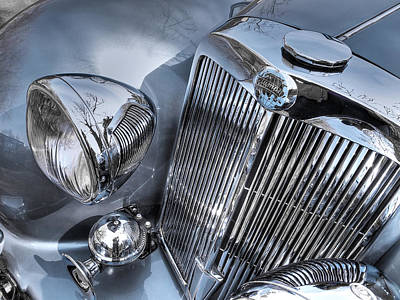 Photograph - Vintage Triumph - Chrome Sensation by Gill Billington