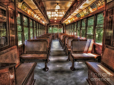 Photograph - Vintage Trolley No. 948 by Susan Candelario