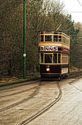 Photograph - Vintage Trolley Tram by Doc Braham