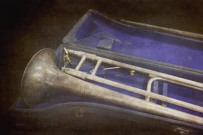 Photograph - Vintage Trombone by Ann Powell