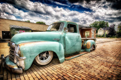 Rusty Cars Wall Art - Photograph - Vintage Truck  by Emmanuel Panagiotakis
