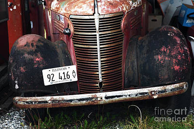 Photograph - Vintage Truck by John Rizzuto