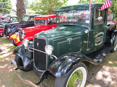 Photograph - Vintage Truck  by Max Lines