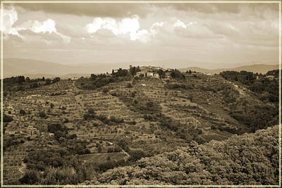 Photograph - Vintage Tuscany. by Terence Davis