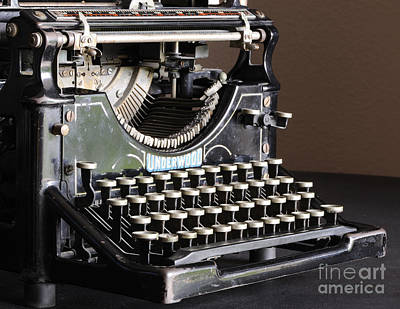 Photograph - Vintage Typewriter by Nancy Greenland