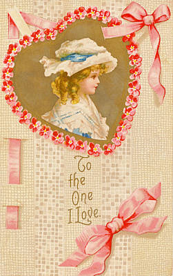 Photograph - Vintage Valentine 4 by David and Carol Kelly