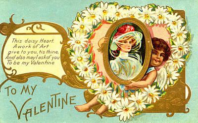Photograph - Vintage Valentine 5 by David and Carol Kelly