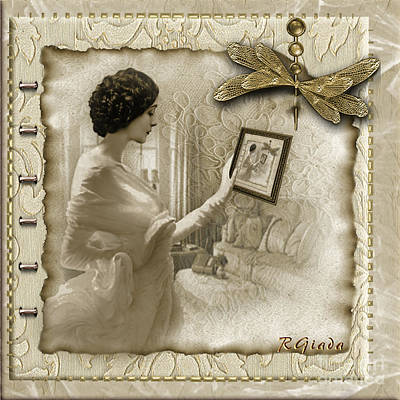 Vintage Vanity Art Print by Giada Rossi