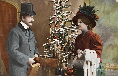 Just Desserts Rights Managed Images - Vintage victorian christmas Royalty-Free Image by Patricia Hofmeester