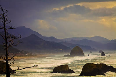 Photograph - Vintage View From Ecola State Park by Joseph Bowman