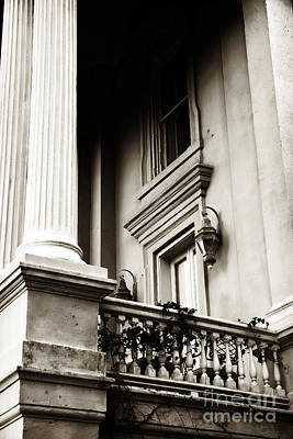 Ledge Photograph - Vintage View In Charleston by John Rizzuto