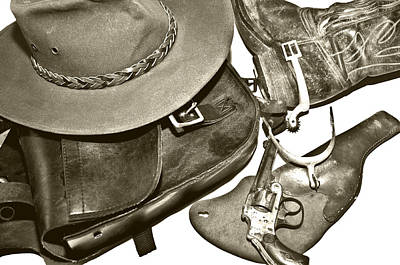 Photograph - Vintage Western by Susan Leggett