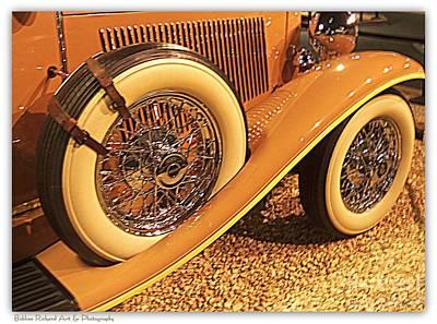 Photograph - Vintage Wheels by Bobbee Rickard