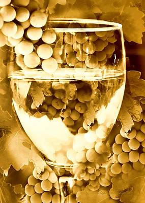 Vino Photograph - Vintage Wine by Stephanie Laird
