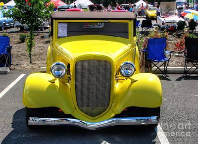 Photograph - Vintage Yellow by Chris Anderson