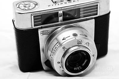 Photograph - Vintage Zeiss Ikon by John Rizzuto